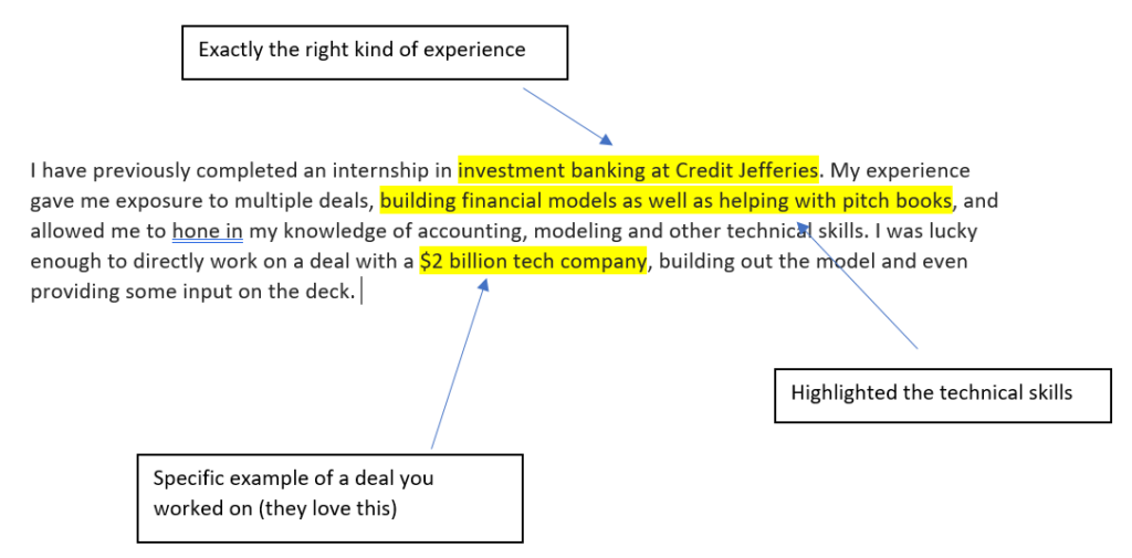 Investment Banking Cover Letter Template (What You're Doing Wrong)